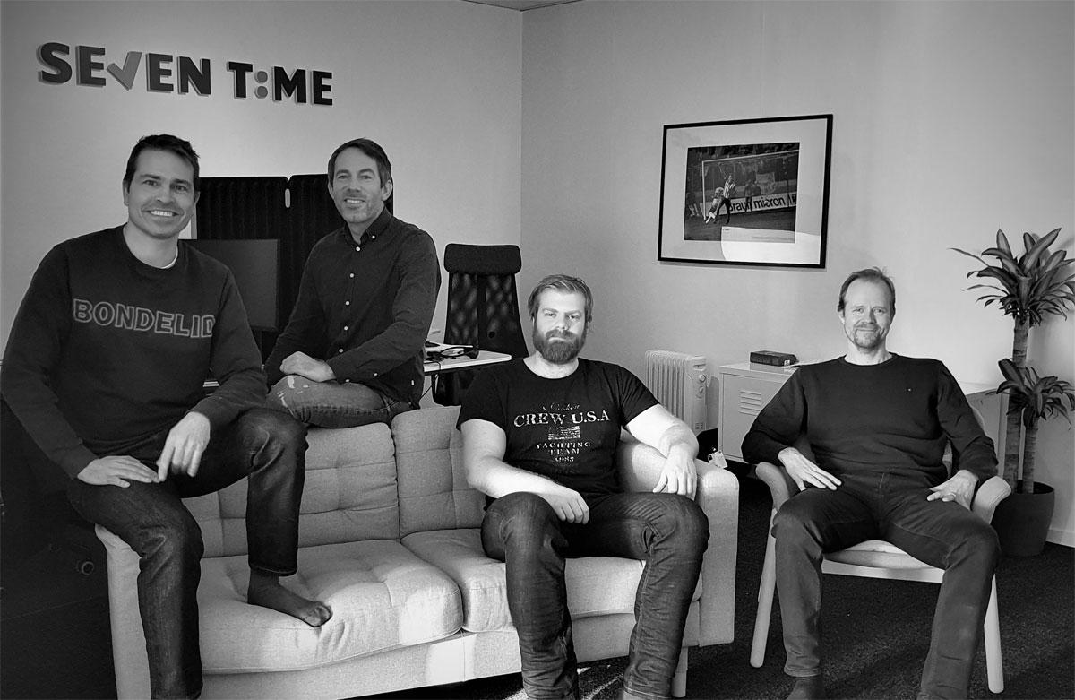 Seven Time Gruppbild